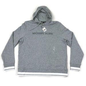 Micahel Kors Mens Hoodie Sweatshirt Gray